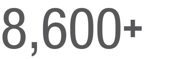 8,600+